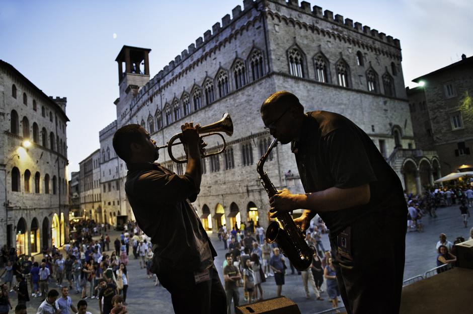 Perugia_Piazza IV Novembre_Umbria Jazz