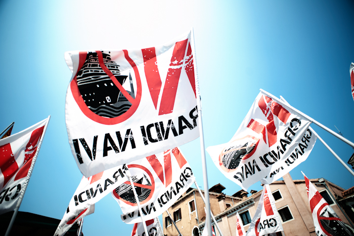 "Manifestazione ""No Grandi Navi"" a Venezia"