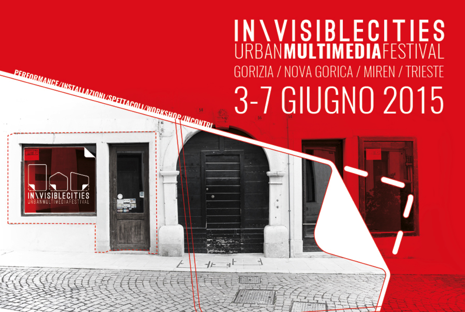 Invisible cities urban multimedia festival positive italy for E kitchen by urban feast