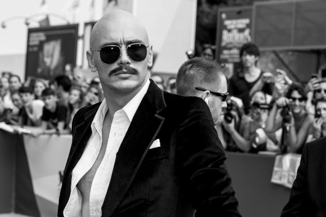 James Franco. Foto Alessio Costantino