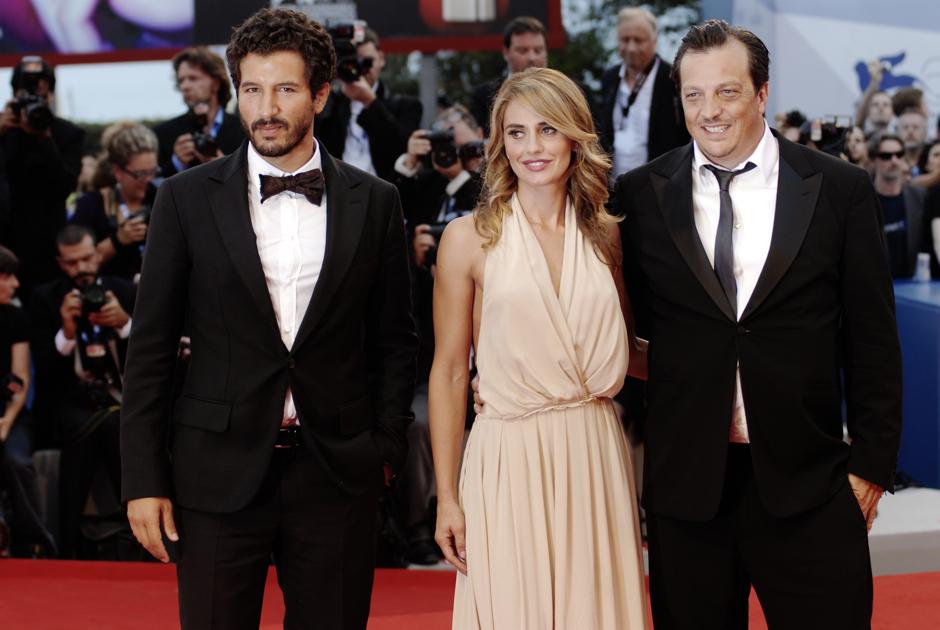 A destra, Gabriele Muccino. Foto: Giacomo Cosua