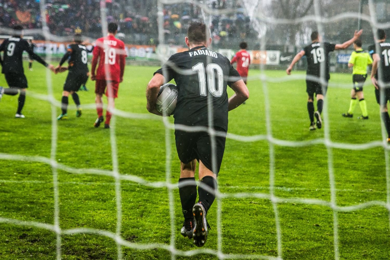 La pioggia ferma il Venezia: 1-1 contro il Santarcangelo